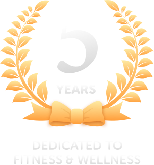 5 years dedicated to fitness and wellness